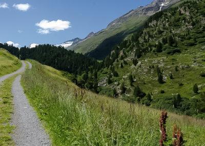 Zustieg Zirmwald Klettersteig